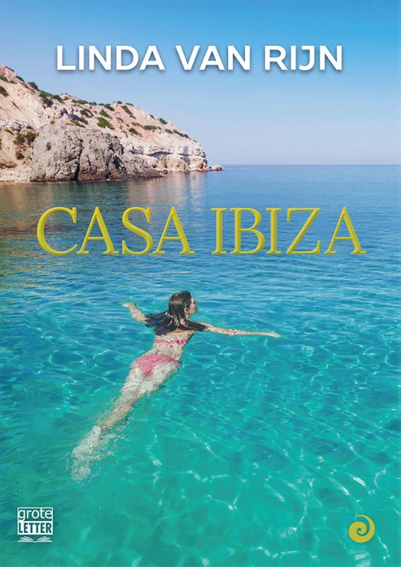 Cover Casa Ibiza - grote letter uitgave