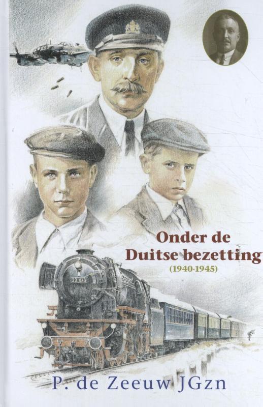 Cover Onder de Duitse bezetting (1940-1945)