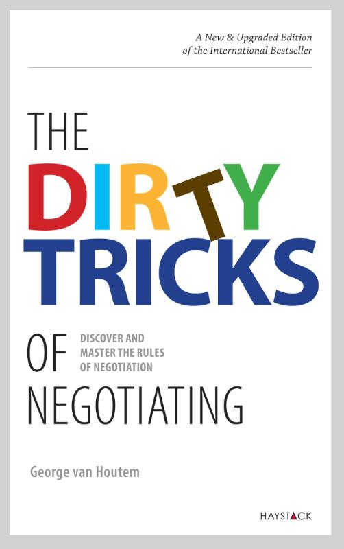 Cover The dirty tricks of negotiating