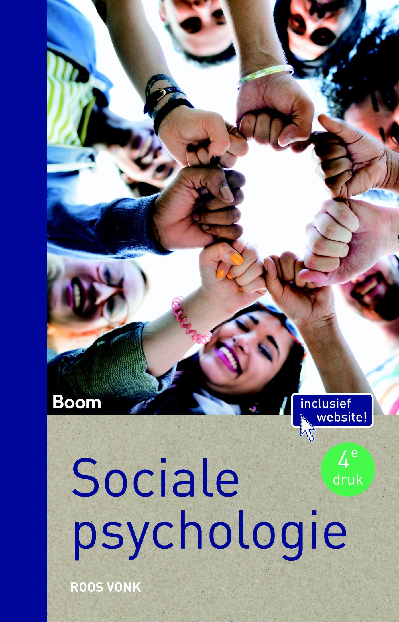 Cover Sociale psychologie