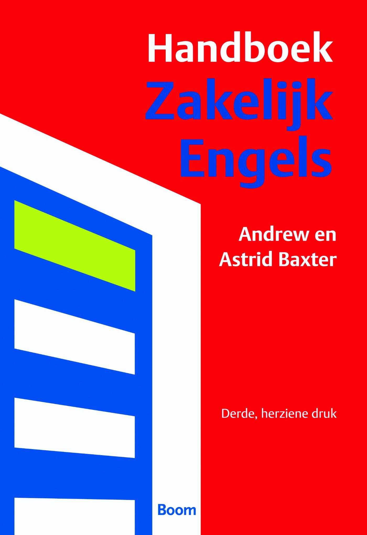 Cover Handboek zakelijk Engels