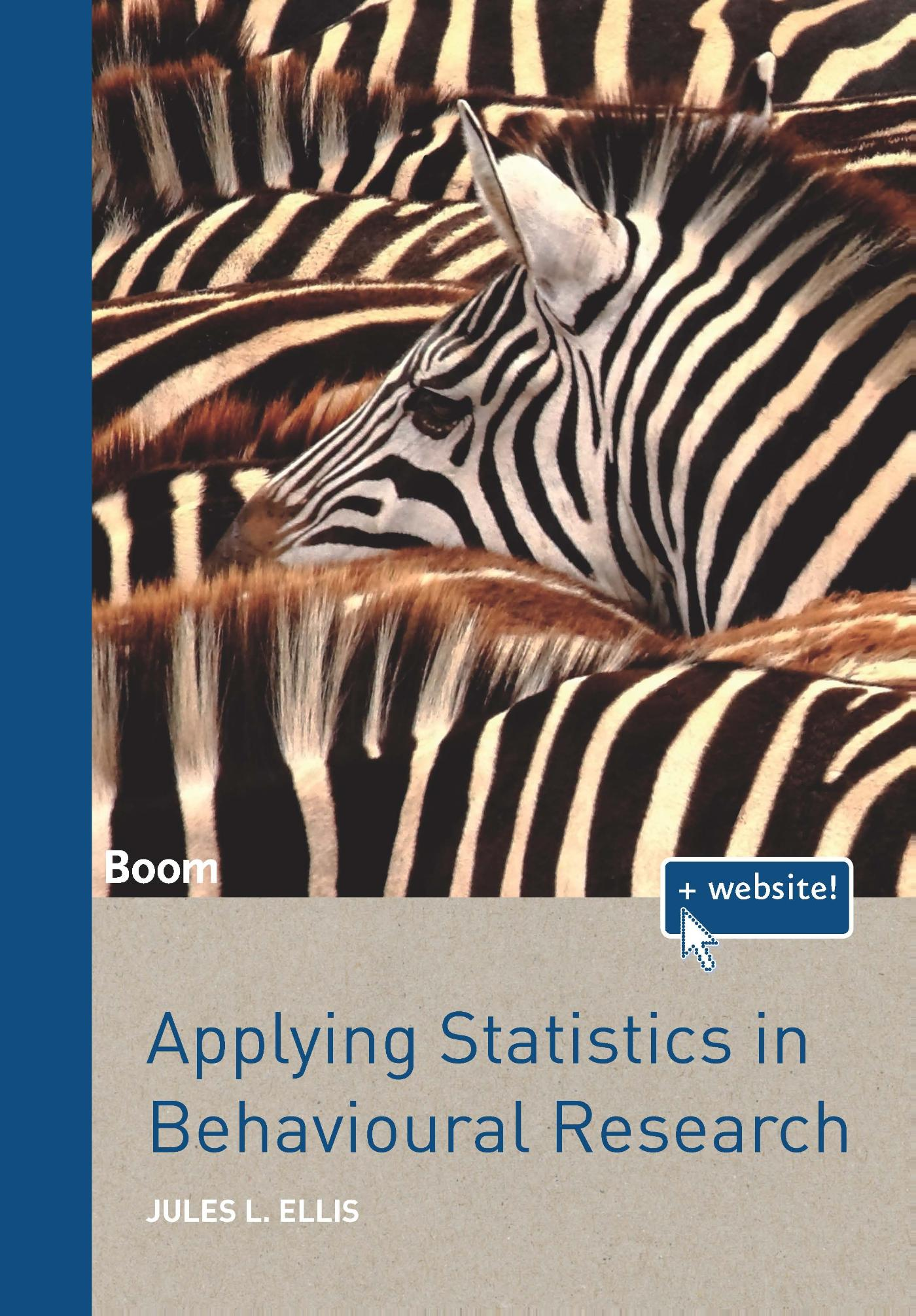 Cover Applying statistics in behavioural research
