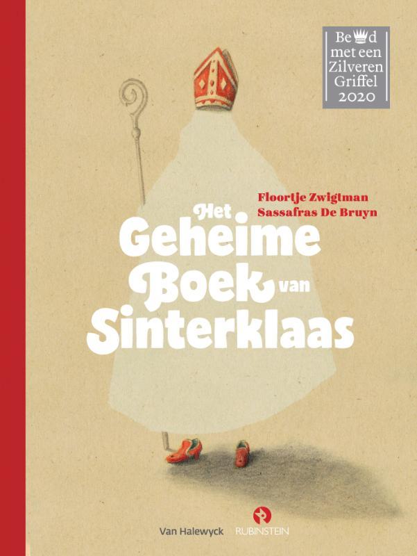 Cover Het geheime boek van Sinterklaas