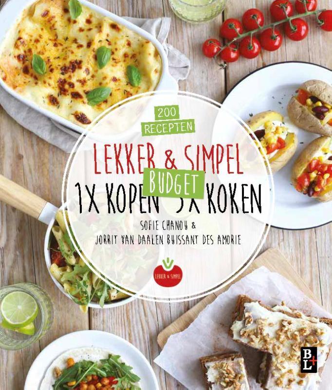 Cover Lekker & Simpel. 1x kopen 5x koken