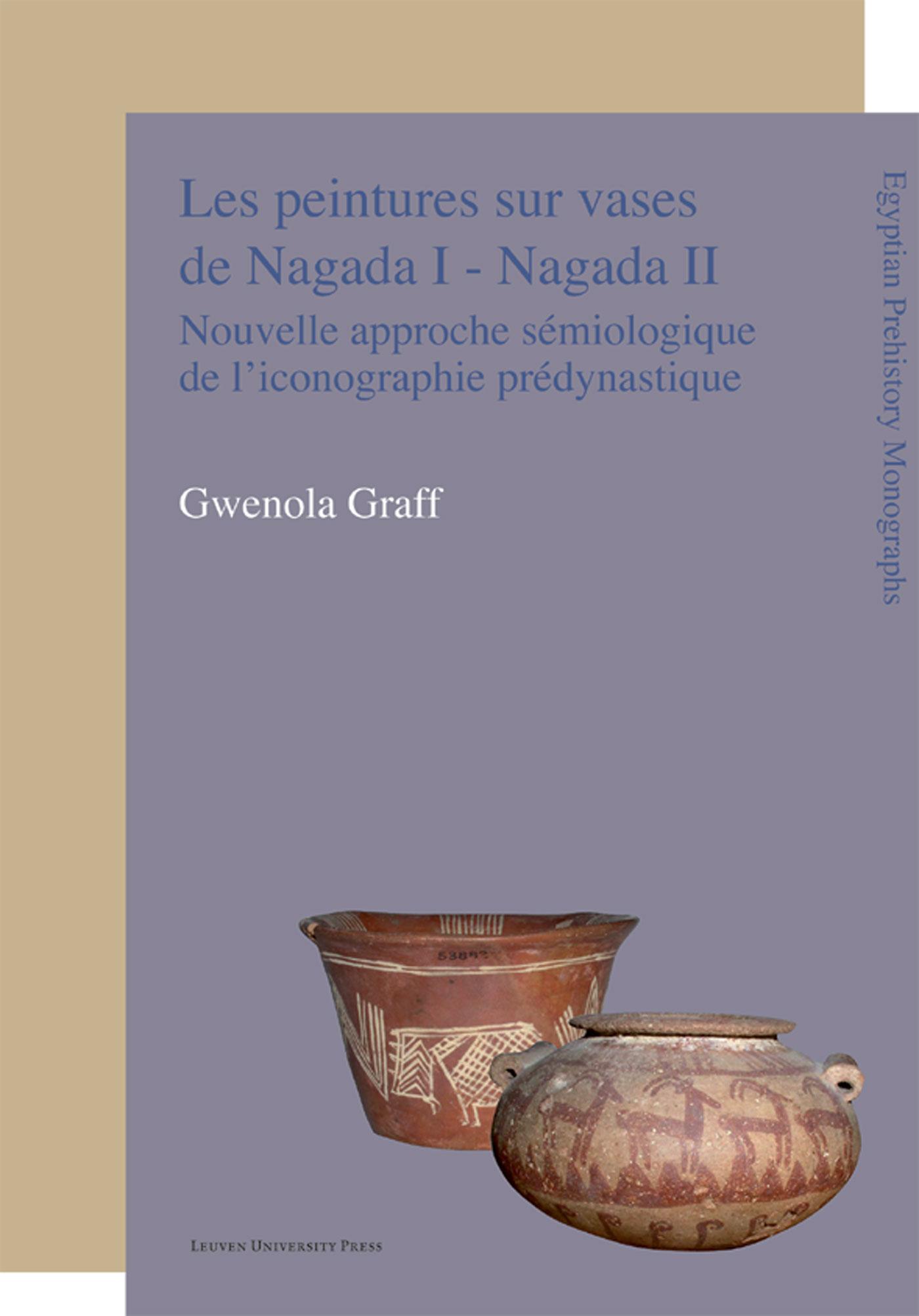 Cover Les peintures sur vases de Nagada I - Nagada II