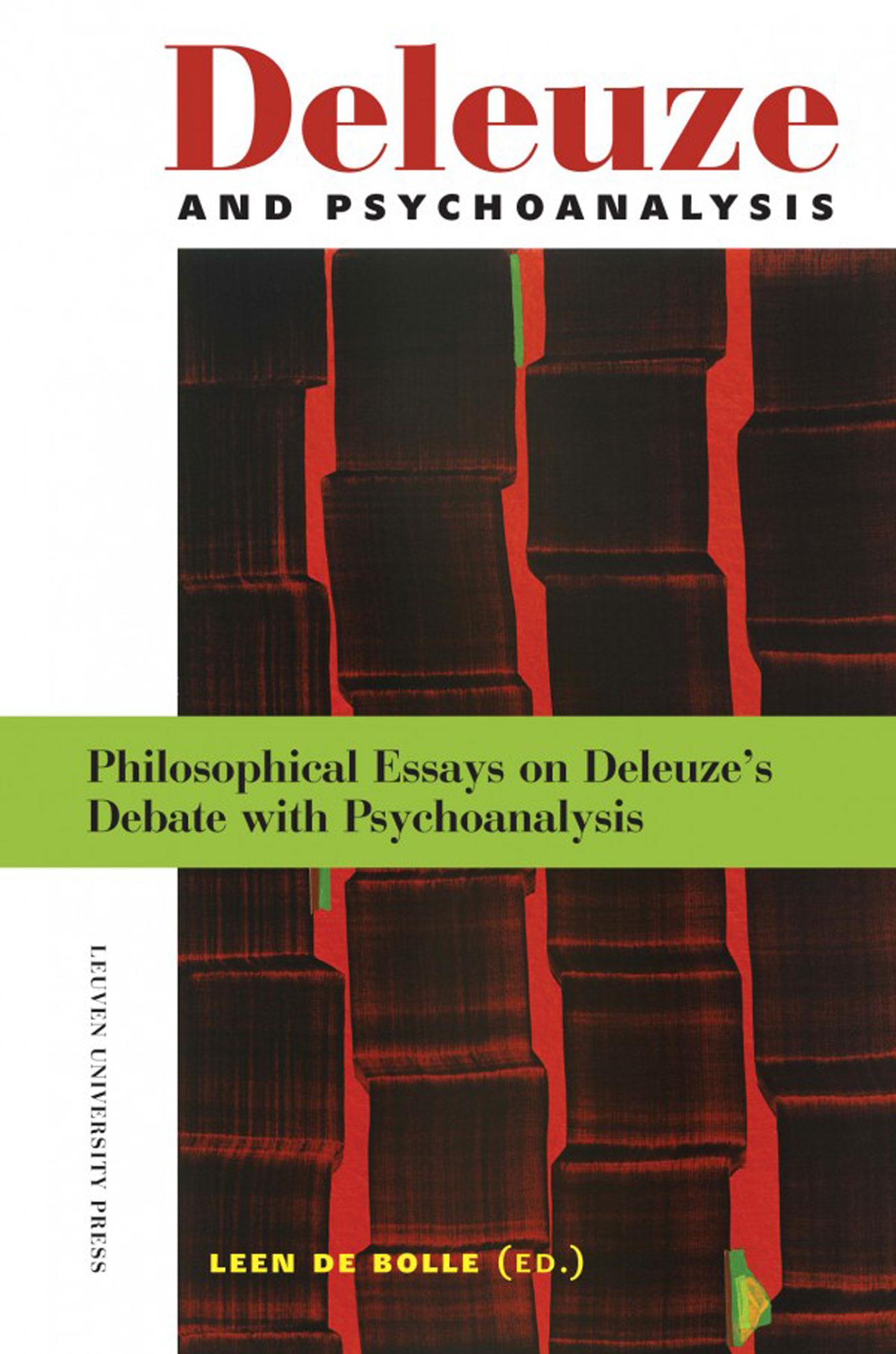 Cover Deleuze and desire