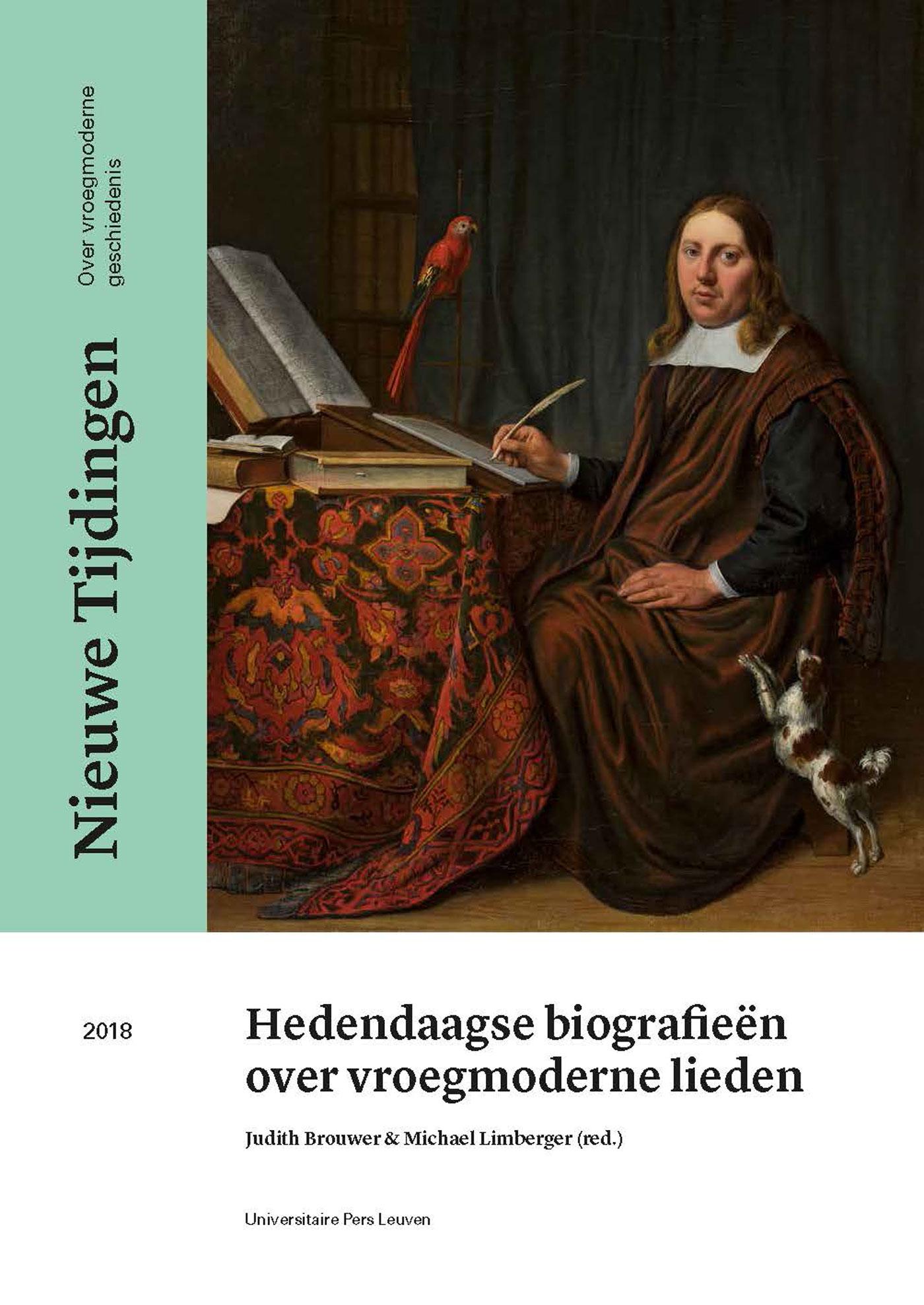 Cover Hedendaagse biografieën over vroegmoderne lieden