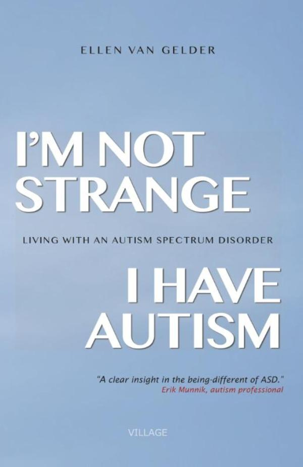 Cover I'm not strange, I have autism