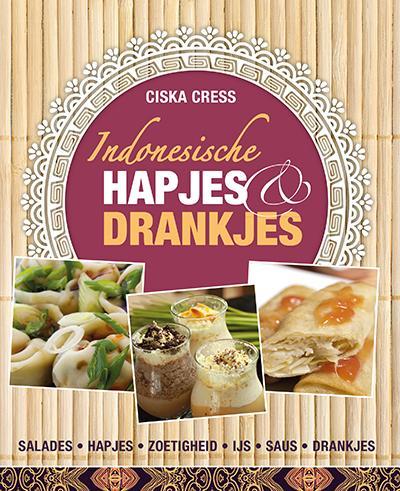 Cover Indonesische hapjes, koekjes & drankjes