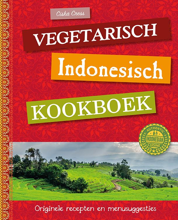 Cover Vegetarisch Indonesisch kookboek