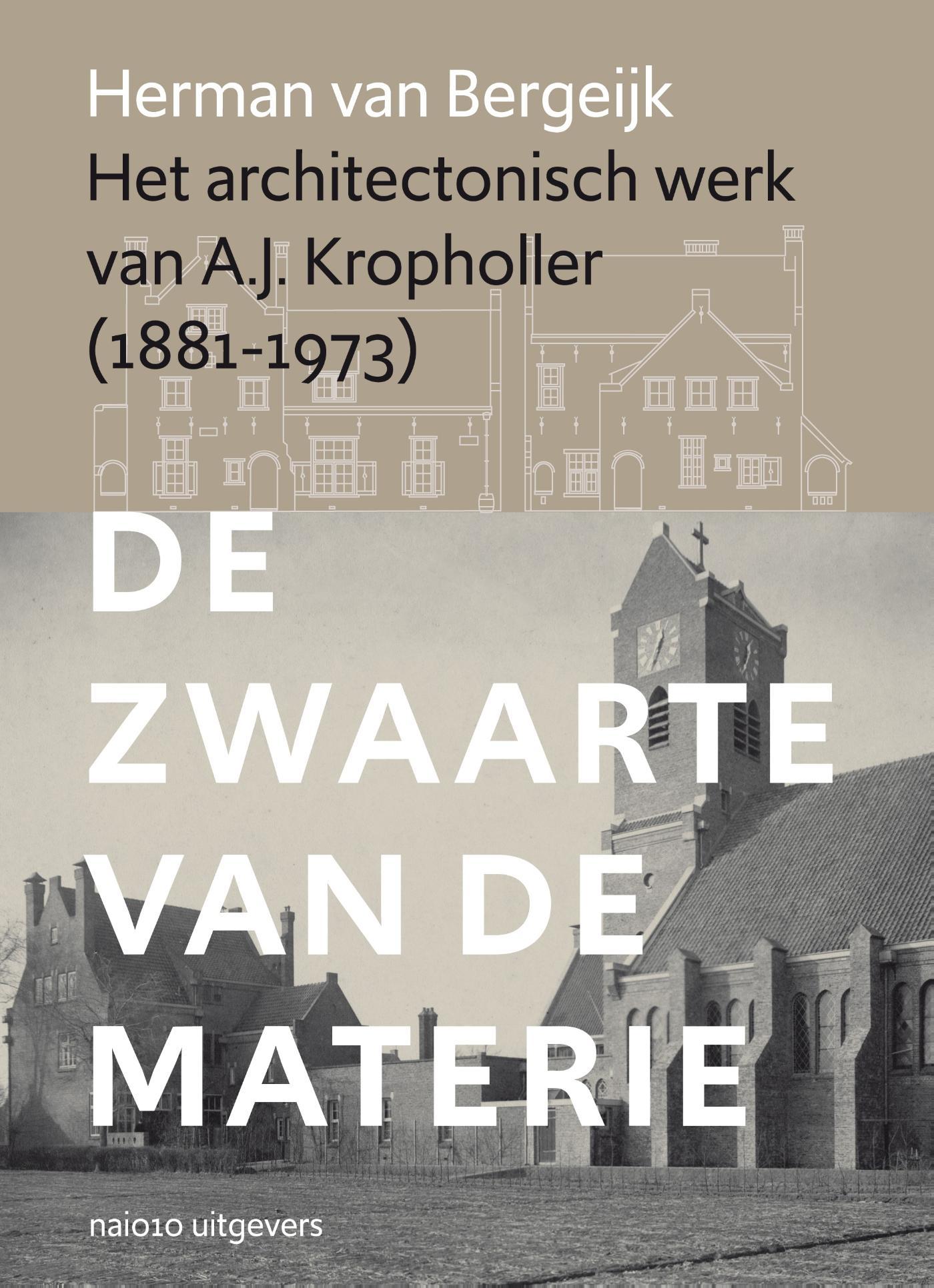 Cover Het architectonisch werk van A.J. Kropholler