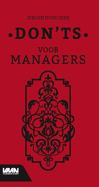 Cover Dont's for managers