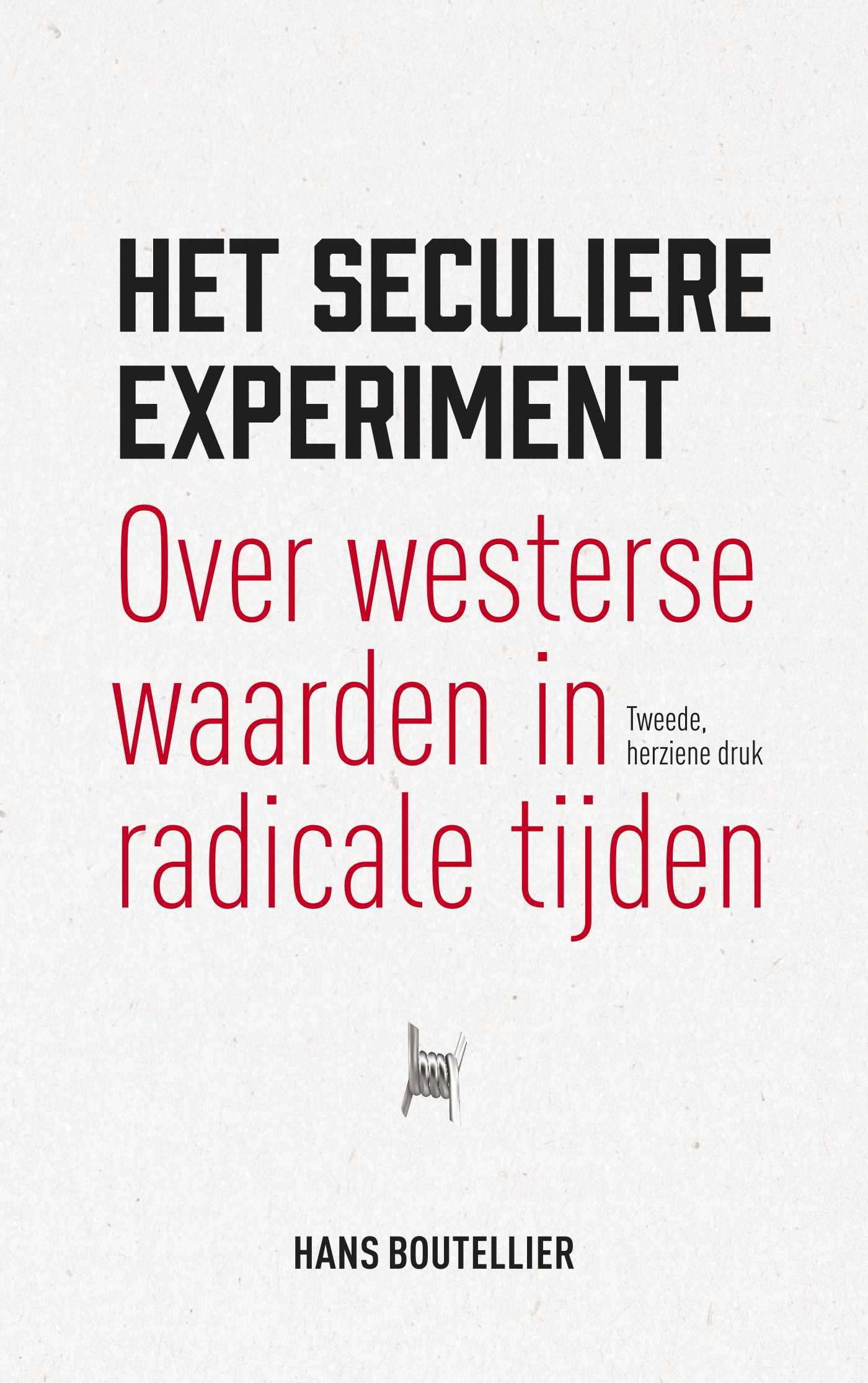 Cover Het seculiere experiment