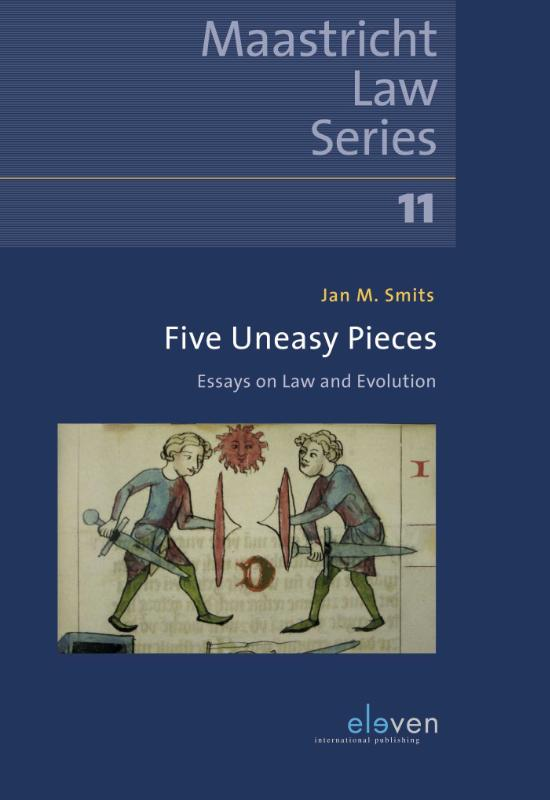 Cover Five Uneasy Pieces