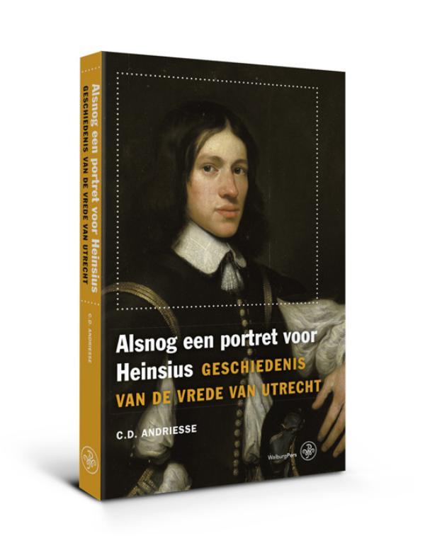 Cover Alsnog een portret voor Heinsius