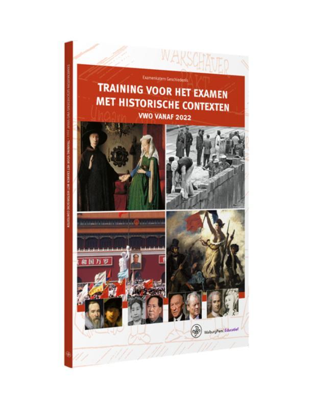 Cover Examenkatern-Training voor het Examen met Historische Contexten-vwo vanaf 2022