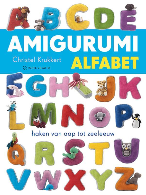 Boek Amigurumi Alfabet Geschreven Door Christel Krukkert