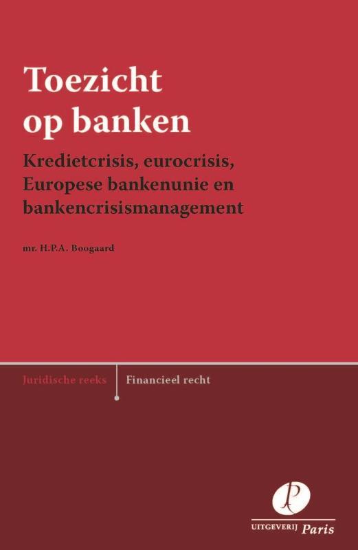 Cover Toezicht op banken
