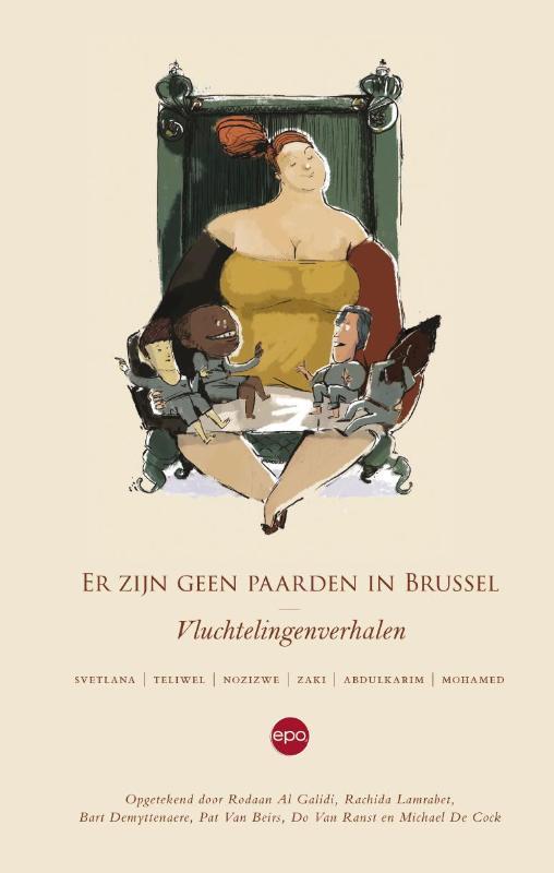 Cover Er zijn geen paarden in Brussel