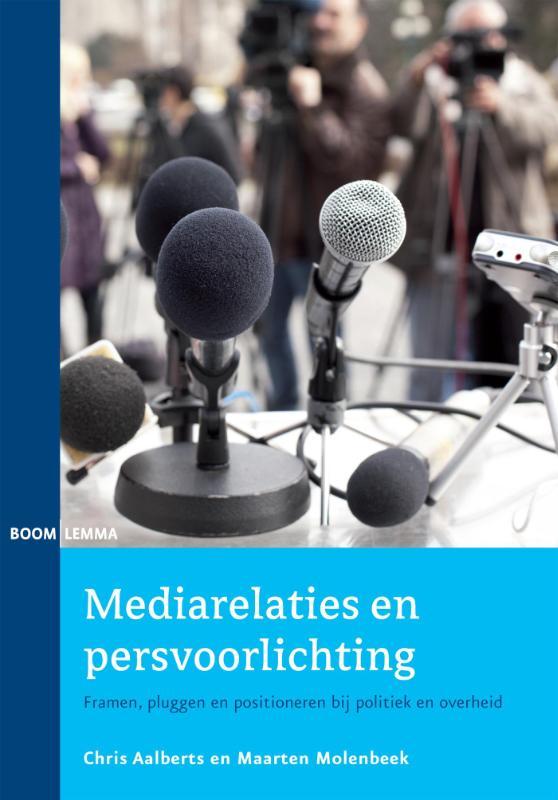 Cover Mediarelaties en persvoorlichting