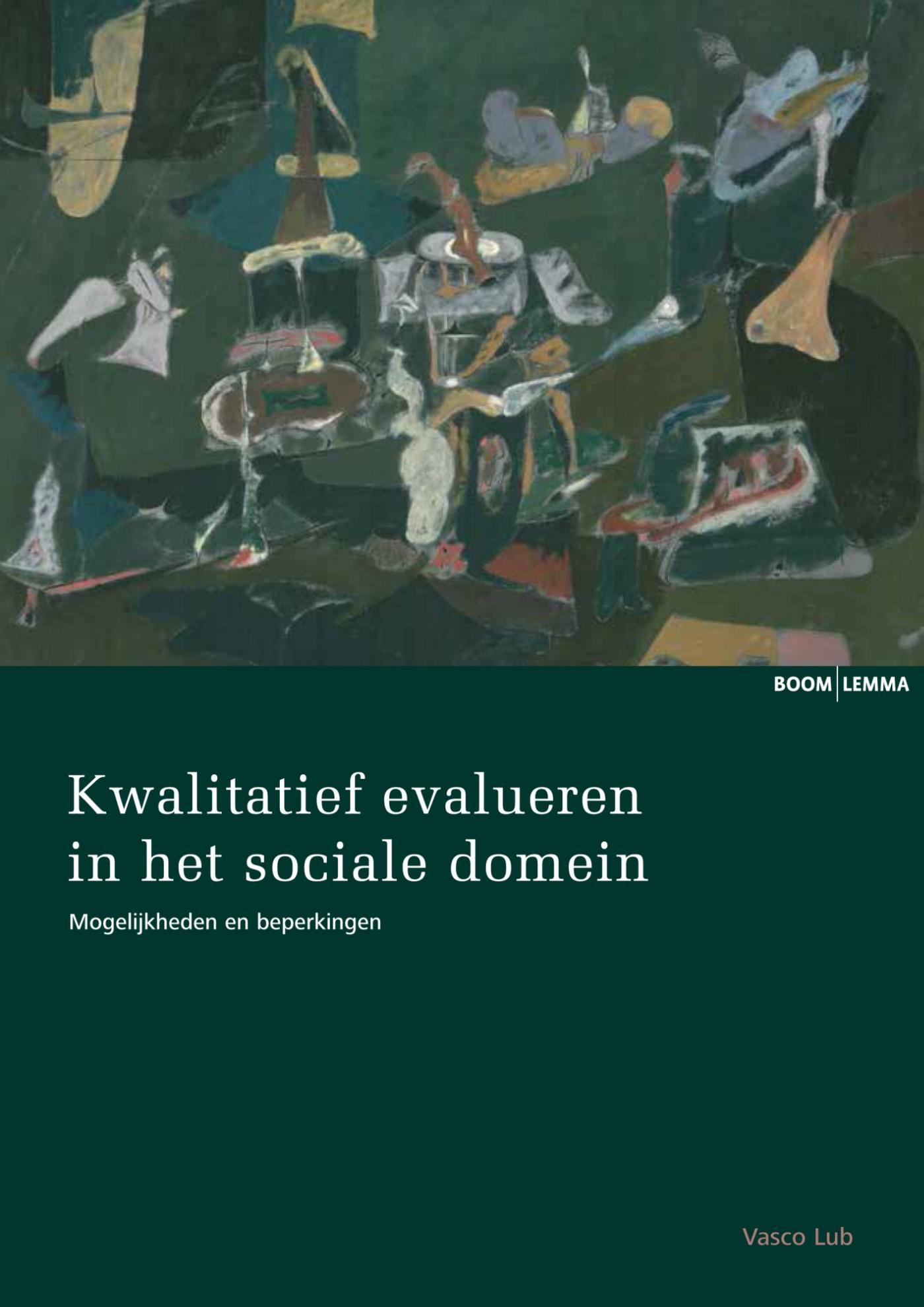 Cover Kwalitatief evalueren in het sociale domein