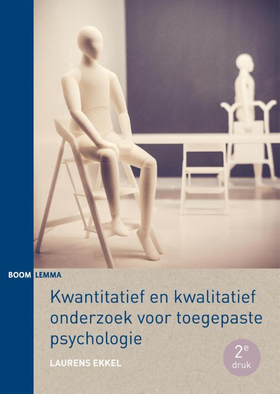 Cover kwantitatief en kwalitatief onderzoek voor toegepaste psychologie