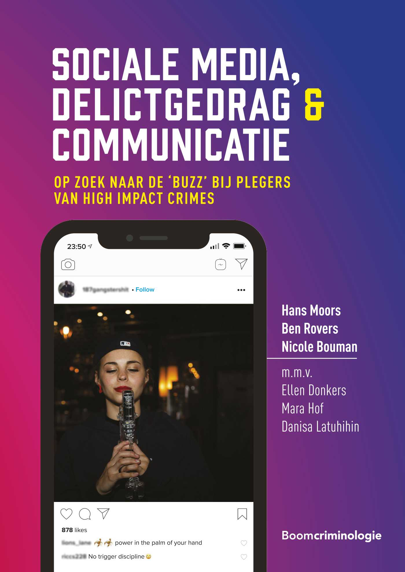 Cover Sociale media, delictgedrag & communicatie