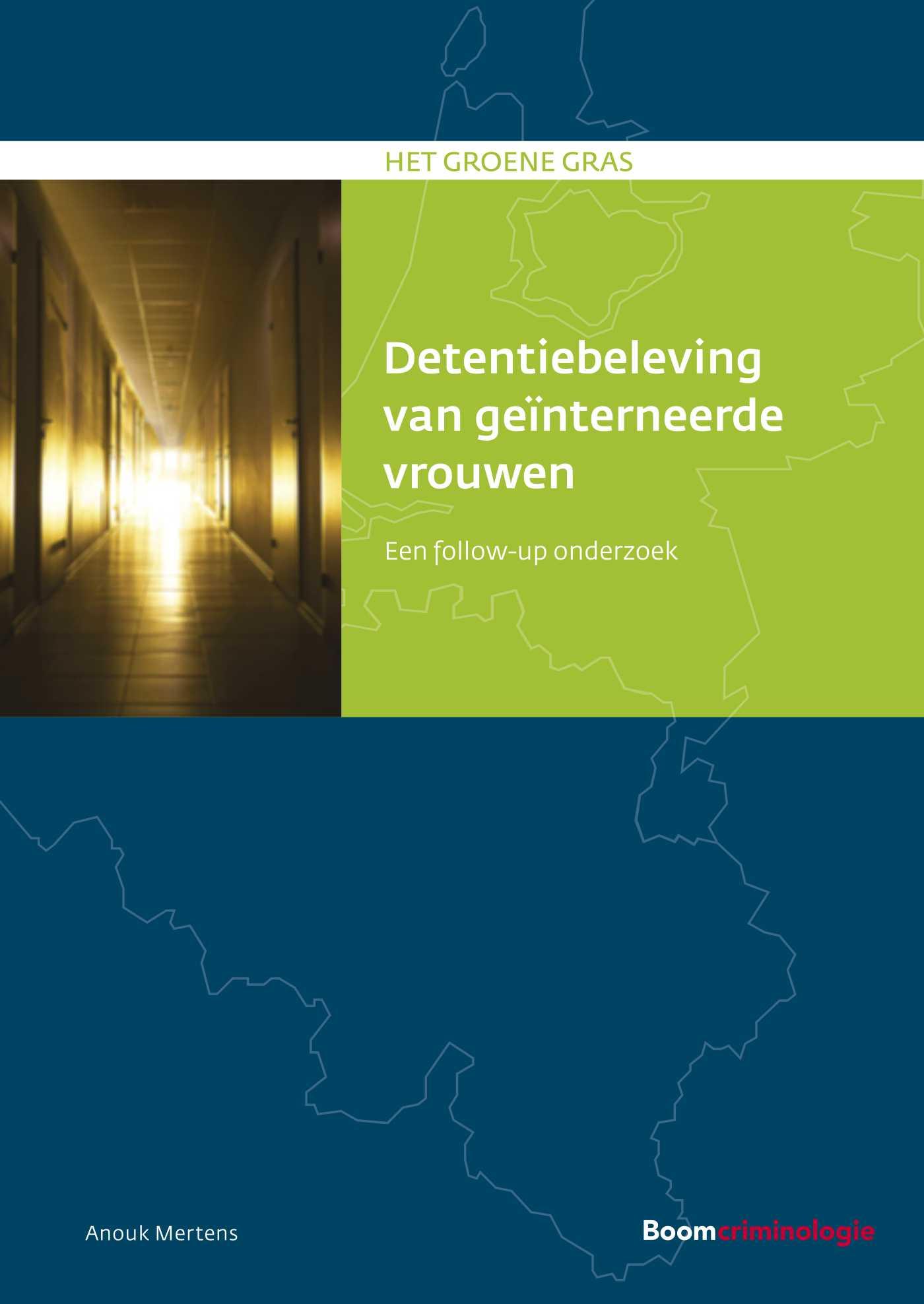 Cover Detentiebeleving van geïnterneerde vrouwen