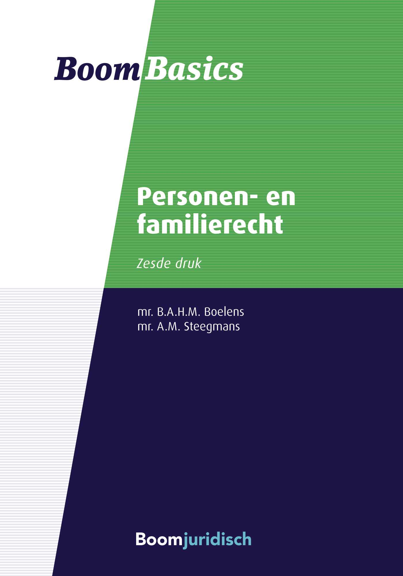 Cover Personen- en familierecht
