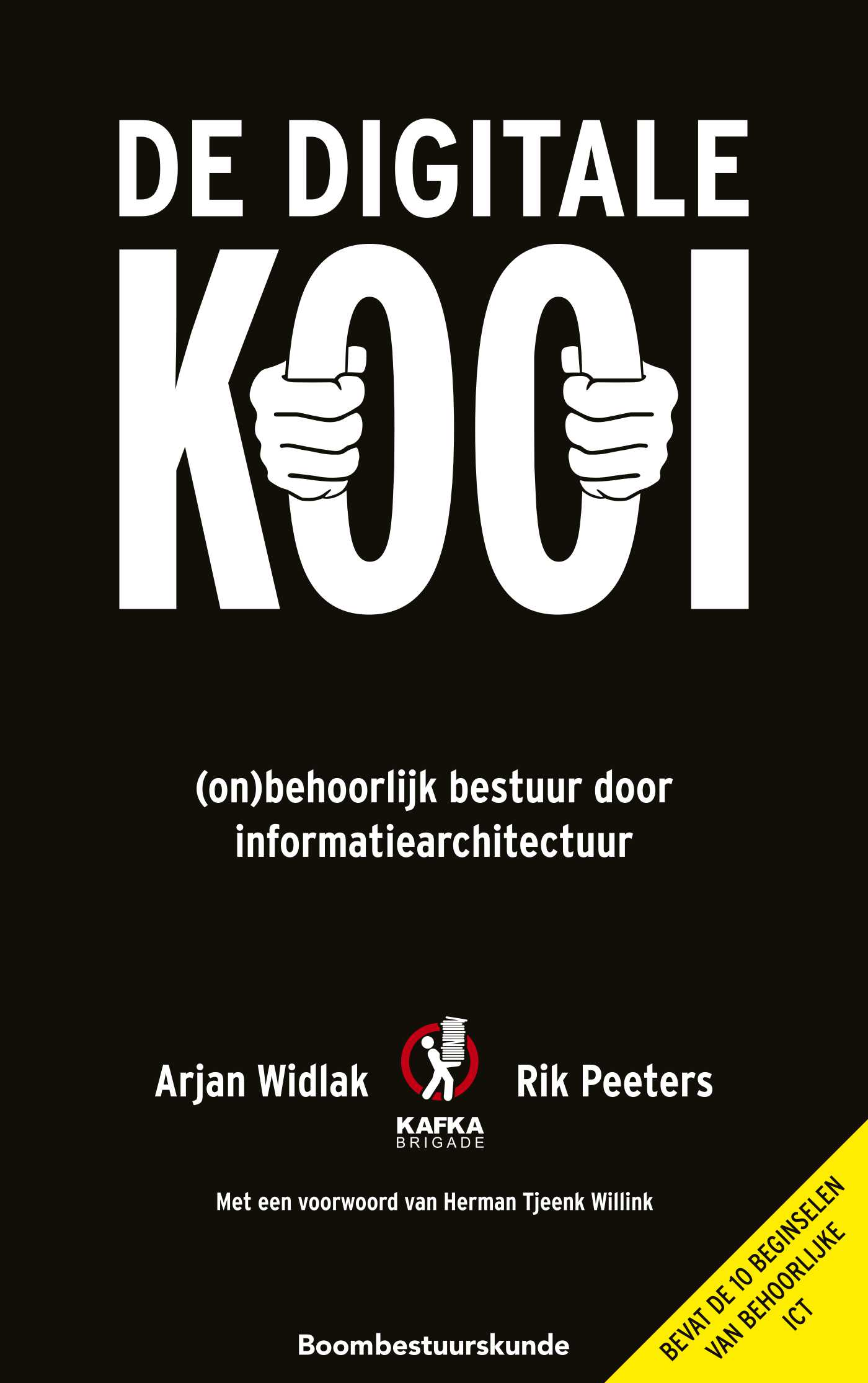 Cover De digitale kooi