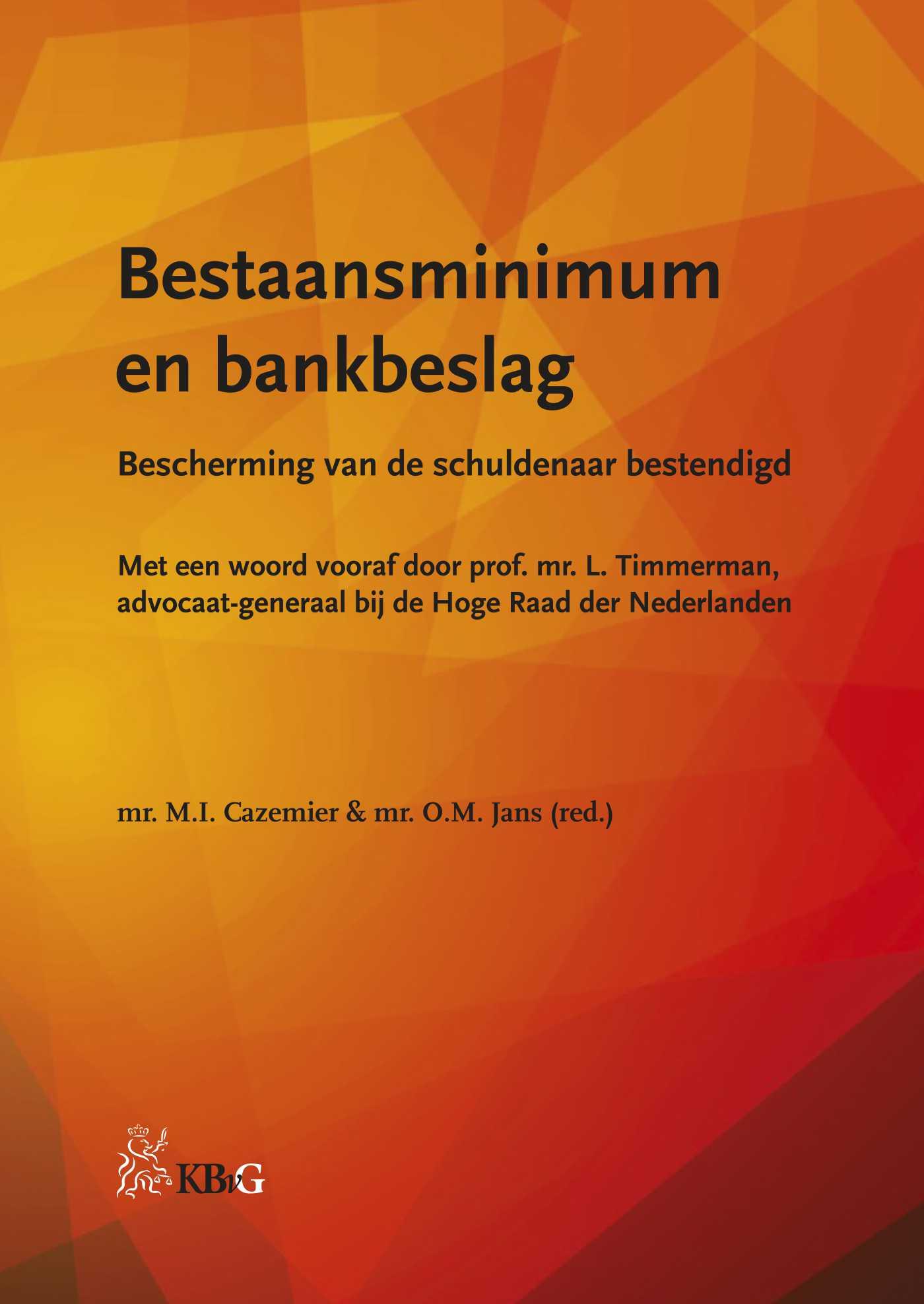 Cover Bestaansminimum en bankbeslag