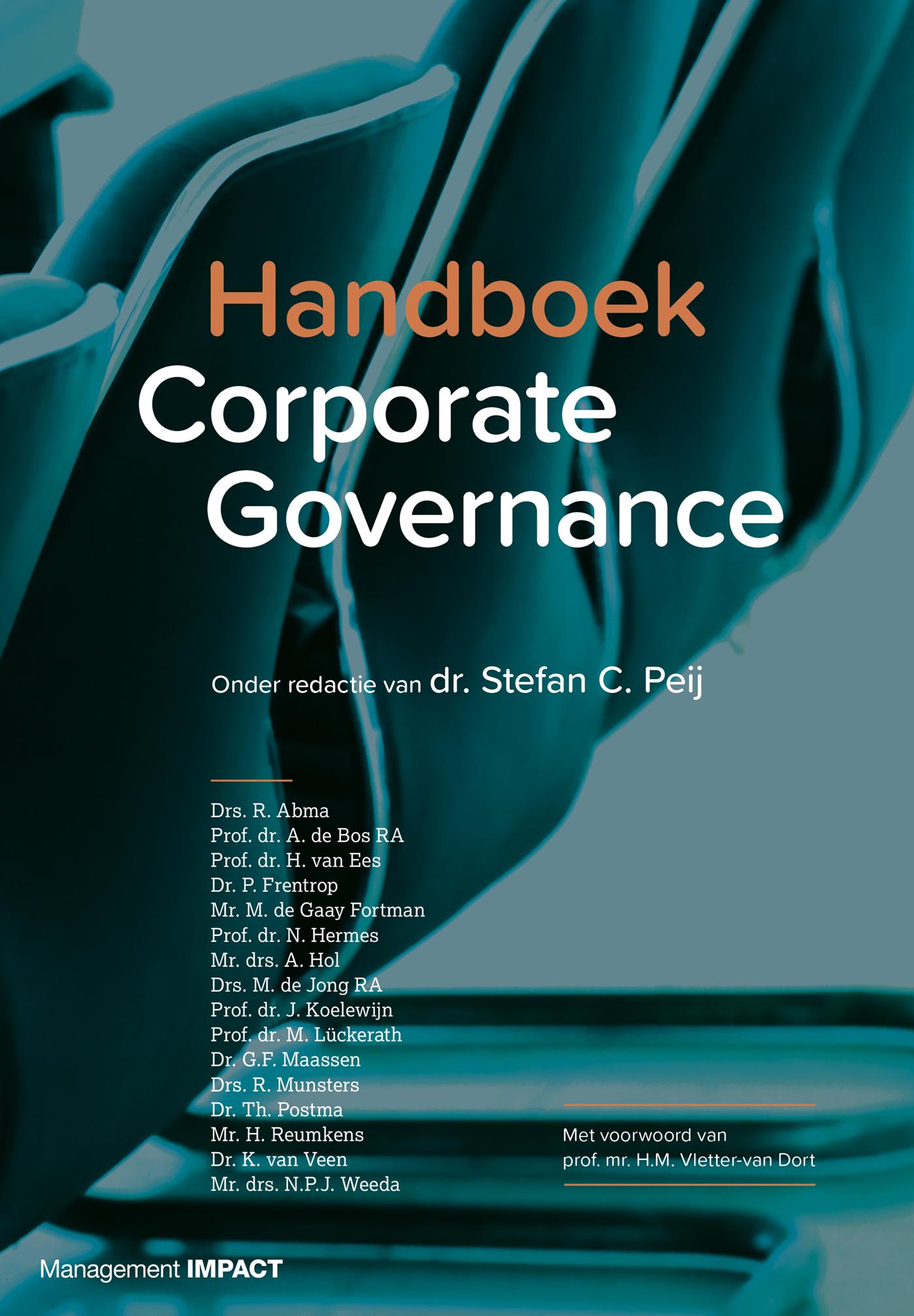Cover Handboek Corporate Governance