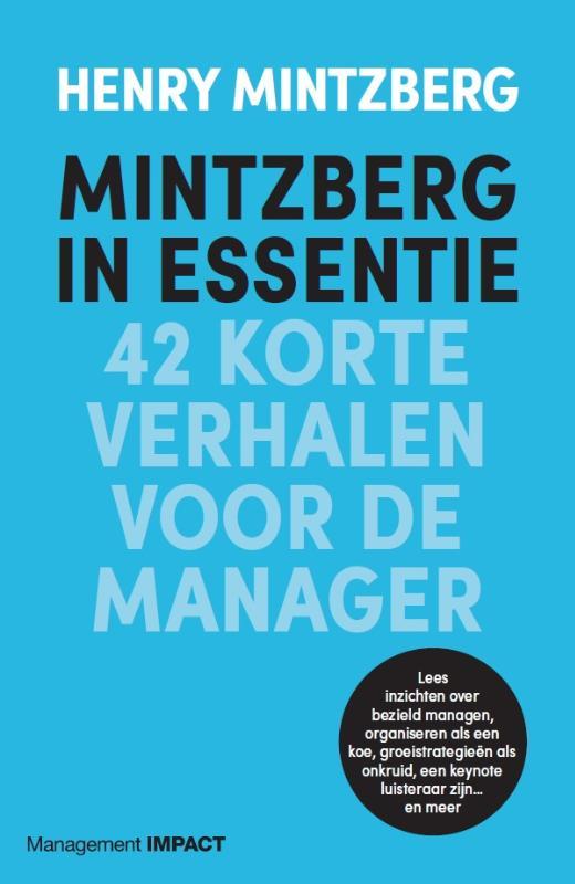 Cover Mintzberg in essentie