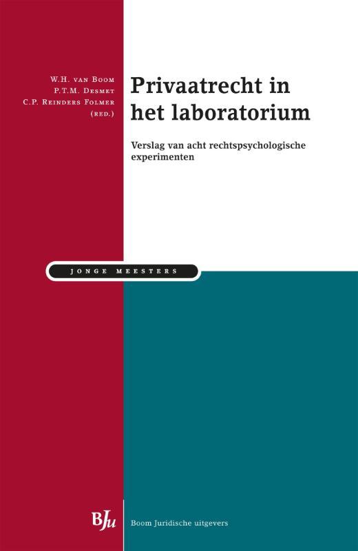 Cover Privaatrecht in het laboratorium