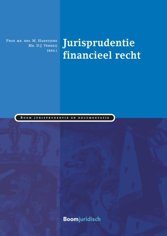 Cover Verzamelde rechtspraak inzake financieel recht