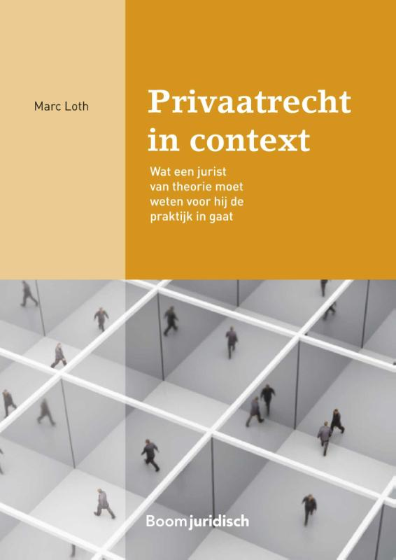 Cover Privaatrecht in context