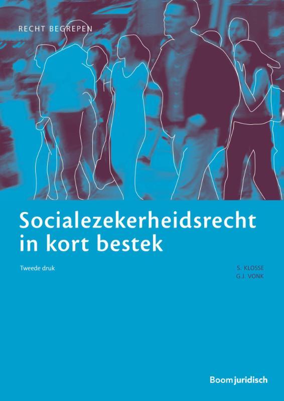 Cover Socialezekerheidsrecht in kort bestek
