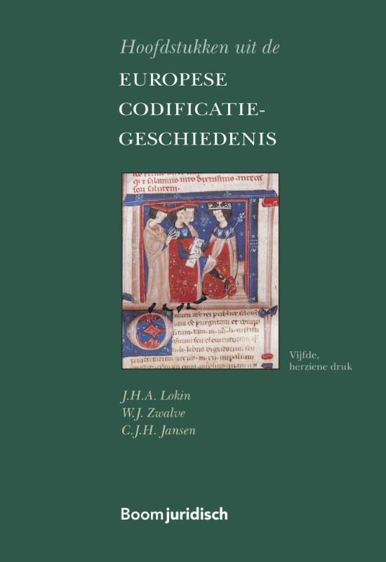 Cover Hoofdstukken uit de Europese Codificatiegeschiedenis