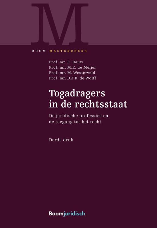 Cover Togadragers in de rechtsstaat