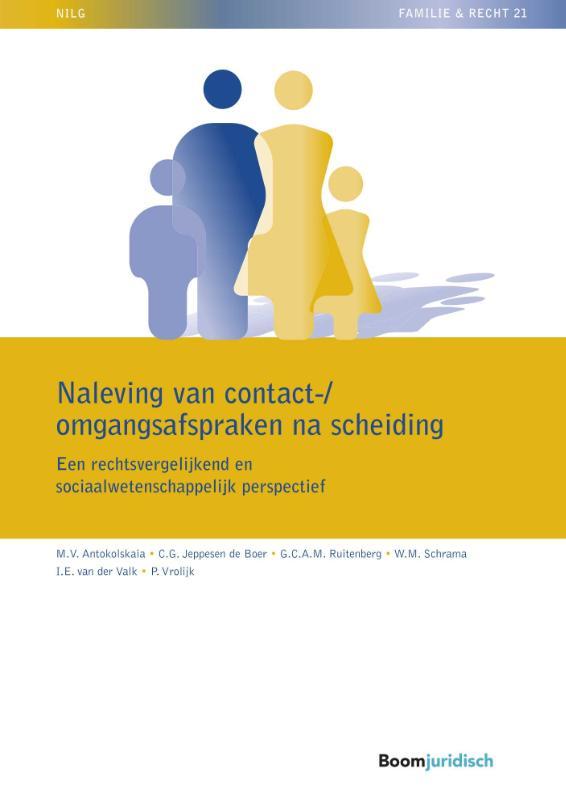 Cover Naleving van contact-/omgangsafspraken na scheiding