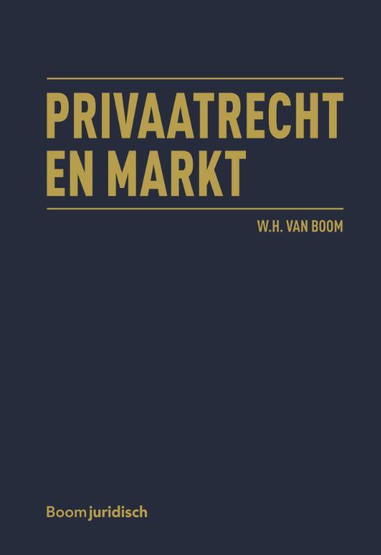 Cover Privaatrecht en markt