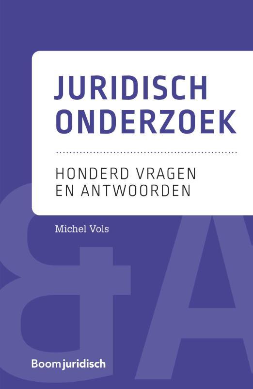 Cover Juridisch onderzoek