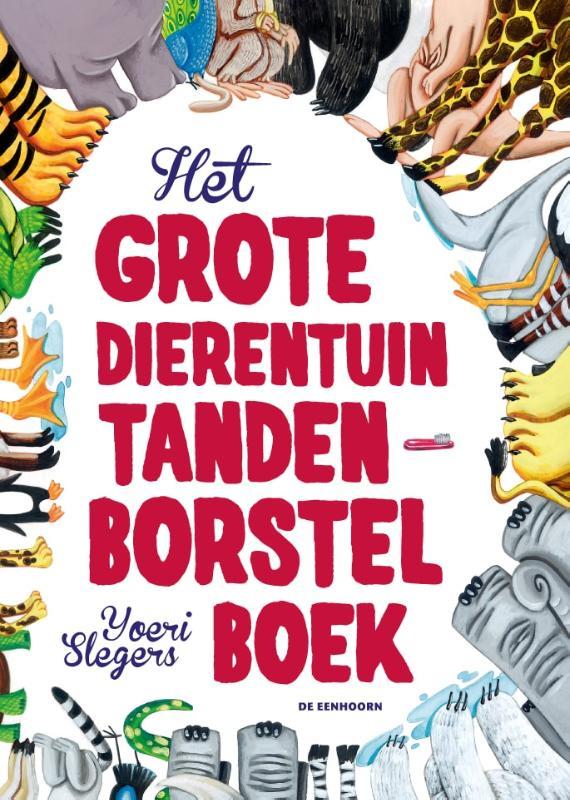 Cover Het grote dierentuin tandenborstelboek