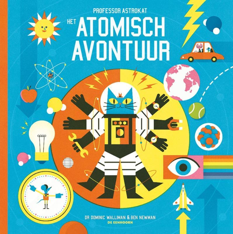 Cover Professor Astrokat, het atomisch avontuur