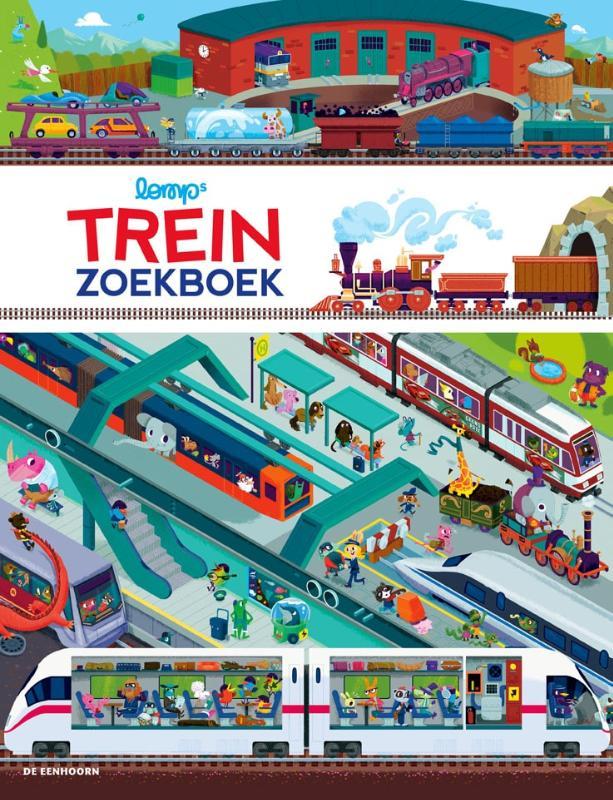 Cover Trein zoekboek