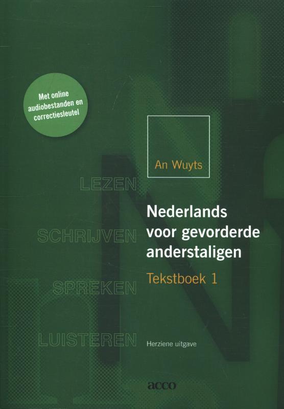 Cover Nederlands voor gevorderde anderstaligen