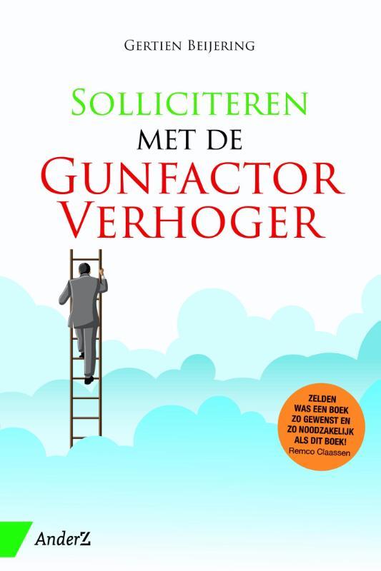 Cover Solliciteren met de GunfactorVerhoger