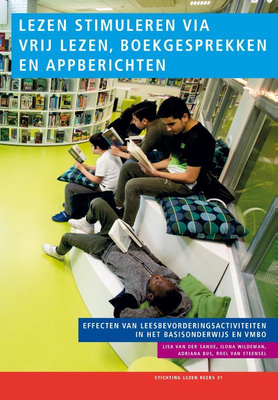 Cover Lezen stimuleren via vrij lezen, boekgesprekken en appberichten
