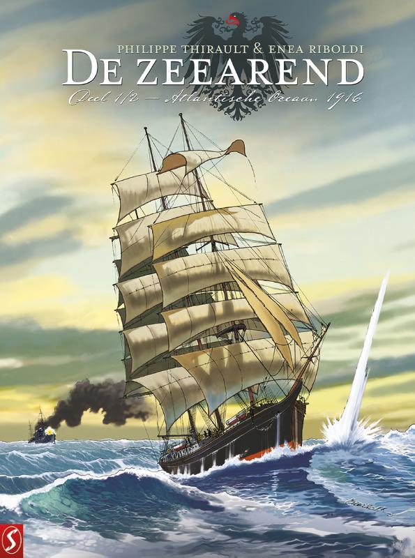 Cover Atlantische Oceaan 1916
