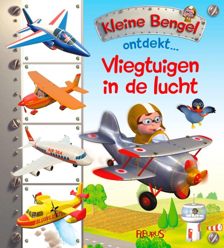 Cover Vliegtuigen in de lucht